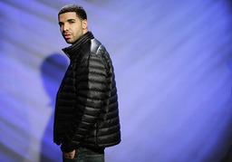 Canadian recording artist and actor Drake poses for a portrait in New York