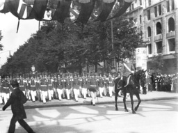 Parade in Berlin for the anniversary of the coronation of the Kaiser, 1913