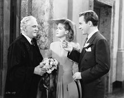 1943 - A Stranger in Town - Movie Set
