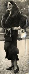 Paris Winter Coat Fashions At Longchamp Races. Fashion Women - Street Fashions.