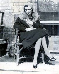 Margaret Duchess Of Argyll Mrs Charles Sweeny Formerly Miss Margaret Whigham One Of The Most Beautiful Debutantes Of 1931 Sitting In The Sunshine At Hove Where She Is Recuperating From The Severe Illness She Contracted On Feb 10th. Margaret Had Falle