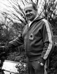 Soccer: Former trainer of the German national team Sepp Herberger