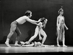 The Lindsay Kemp Dance Mime Company In 'illumination'.