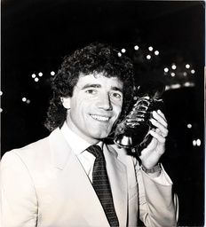 Kevin Keegan Who Won The Golden Boot Award At The Football Writers' Association/adidas British Top Scorer Of The World Cup 1982.