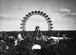 Ferris wheel in the Prater in Vienna, 1938