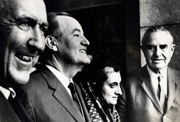 U.S. Politician Hubert Humphrey (1911-1978)