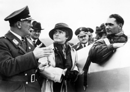 Bruno Loerzer, Rudolf and Ilse Hess after flight to the Zugspitze, 1934