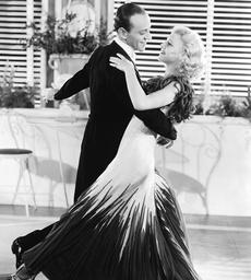 1934 - The Gay Divorcee - Movie Set