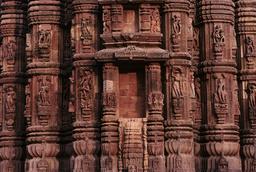 Bhubaneswar, Raja-Rani-Tempel, Teilansicht / Foto - -
