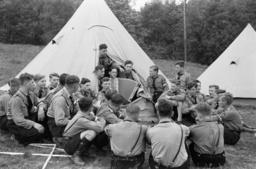 Reichstreffen Motor-HJ/Zeltlager/singen. - Meeting of Motorized HJ, Camp / 1938 -