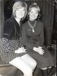 Cilla Black And Lulu (r) In 1970