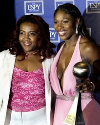 FILE PHOTO OF SERENA WILLIAMS AND SISTER YETUNDE PRICE