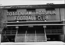 View Of White Hart Lane Football Ground. Home Of Tottenham Hotspur Football Club.