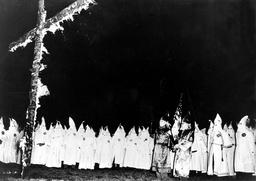 White Supremacy Group the Ku Klux Klan