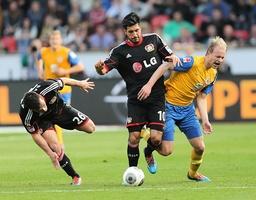 v l Giulio Donati Bayer Leverkusen Emre Can Bayer Leverkusen Havard Nielsen BS Bayer Leve