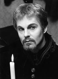 Actor Derek Jacobi As Hamlet In Leeds