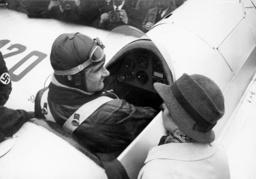 Rudolf Hess and his wife Ilse Hess, 1934