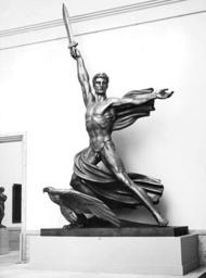 Genius of Victory by Adolf Wamper