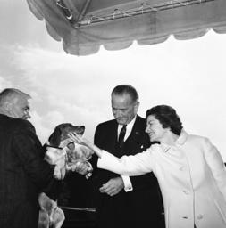 Lyndon Johnson, Lady Bird Johnson