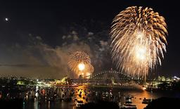 AUSTRALIA-SYDNEY-NEW YEAR-FIREWORKS
