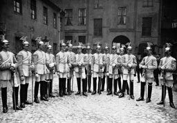Trumpeters of the bodyguard of the German Emperor, 1909