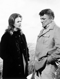 ARCHER, from left: Anne Francis, Brian Keith in 'The Vanished Man' (Season 1, Episode 5, aired March