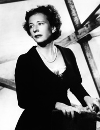 Dancer and choreographer Agnes de Mille, 1954