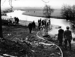 Belgian fighter bomber crashed near Stade