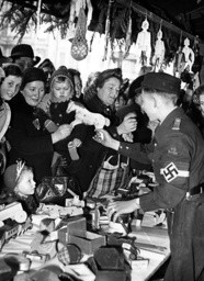 Second World War - Hitler Youth toys for Christmas 1943