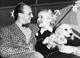 Jacky Coogan and Betty Grable, 1937