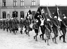 German expats in the Hitler Youth camp in Rheinsberg, 1935