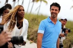 Serena Williams USA Patrick Mouratoglou FRA TENNIS Sony Open Tennis Miami 29 03 2014 Tenni