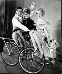 Frankie Vaughan And Joanna Mote In The Pantomime 'puss In Boots' At The Empire Theatre In Liverpool
