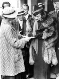 Marlene Dietrich and her husband Rudolf Sieber in London, 1936