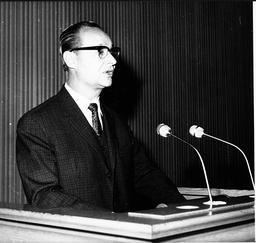 Politician Alexander Dubcek 1921 - 1992