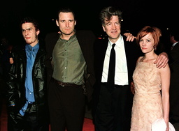 CAST AND DIRECTOR OF LOST HIGHWAY AT PREMIERE