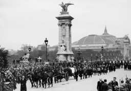 Funeral procession for Jean Louis Barthou in Paris, 1934