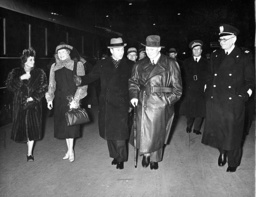 Hermann Goering and his wife Emmy embark on a vacation in Italy which they have planned for many weeks