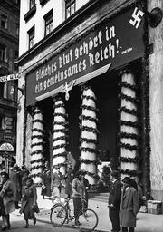 Propaganda for the referendum in Austria, 1938