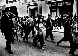 C.n.d. Protest Demonstration Over America's Bombing Of Vietnam.