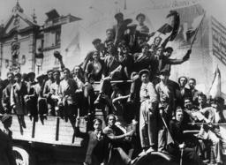 Ausrufung der Republik Madrid 1931 - Proclamation of Republic / Madrid 1931 -