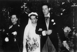 Wedding of Cilly Aussem and Fermo Murari, 1936