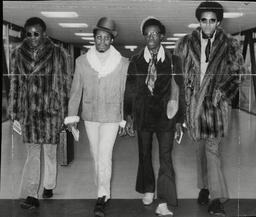 'johnny Johnson And The Bandwagon' American Pop Group (l-r) Terry Lewis John Johnson William 'bill' Bradley And Arthur 'artie' Fullilove. Box 697 1207071627 A.jpg.