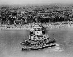 The South Parade Pier At Southsea Hampshire In 1936.