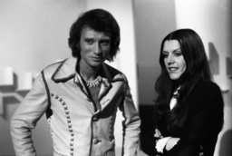 Johnny Hallyday and Caterina Caselli