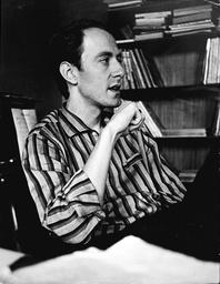 Music Producer John Barry At His London Flat