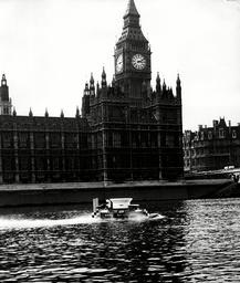 Hovercraft Britain Saunders Roe Srn-1