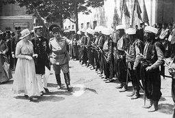 Charles I and Zita on a visit in Constantinople, 1918