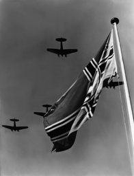 Fighter plane squadron, 1939