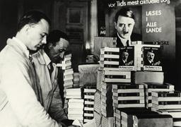 Dänische Ausgabe von Hitlers 'Mein Kampf - 'Mein Kampf' - Danish edition / 1938 -